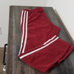 Brick Red Adidas leggings